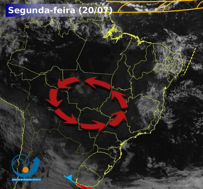Semana será de tempo seco na maior parte do Brasil